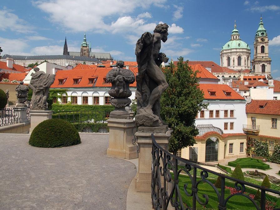 Garten Ansicht der Galerie
