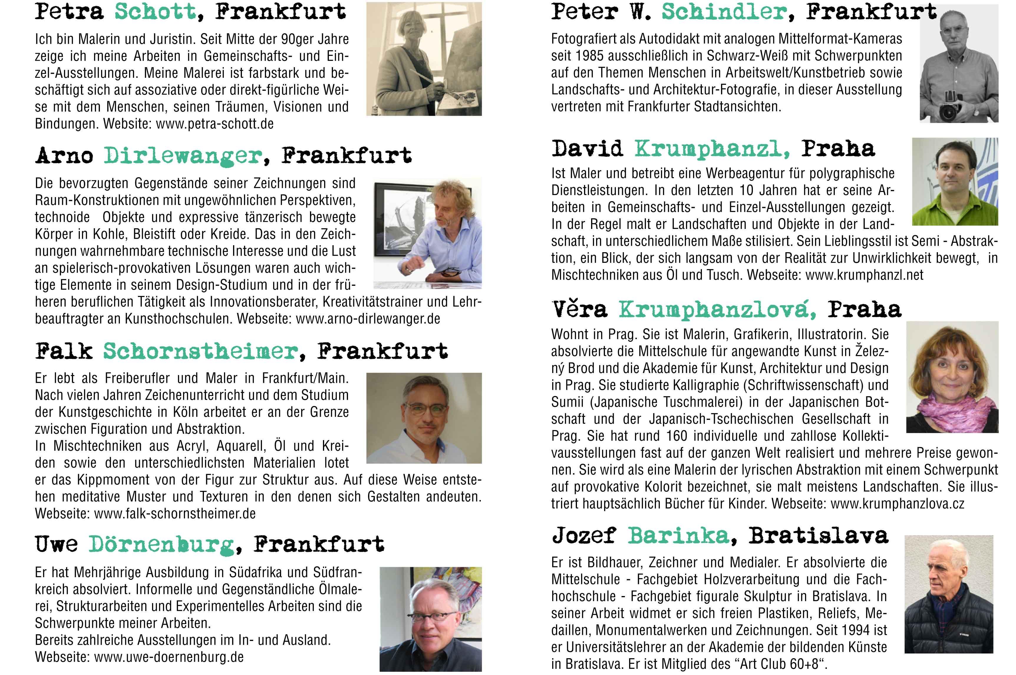 Ausstellung Frankfurt-Praha-Bratislava