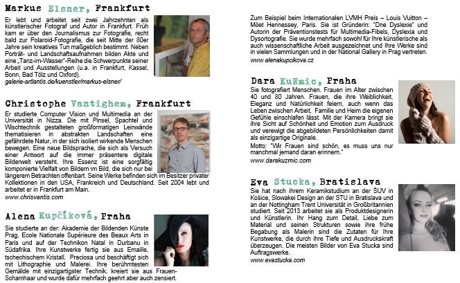 Ausstellung Frankfurt - Praha - Bratislava
