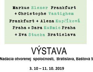 Einladung zu Ausstellung in Bratislava
