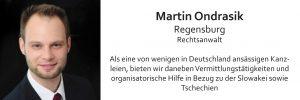 Martin Ondrasik, Rechtsanwalt, Regensburg, Mitglied