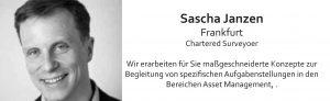Sascha Janzen Frankfurt, Mitglied