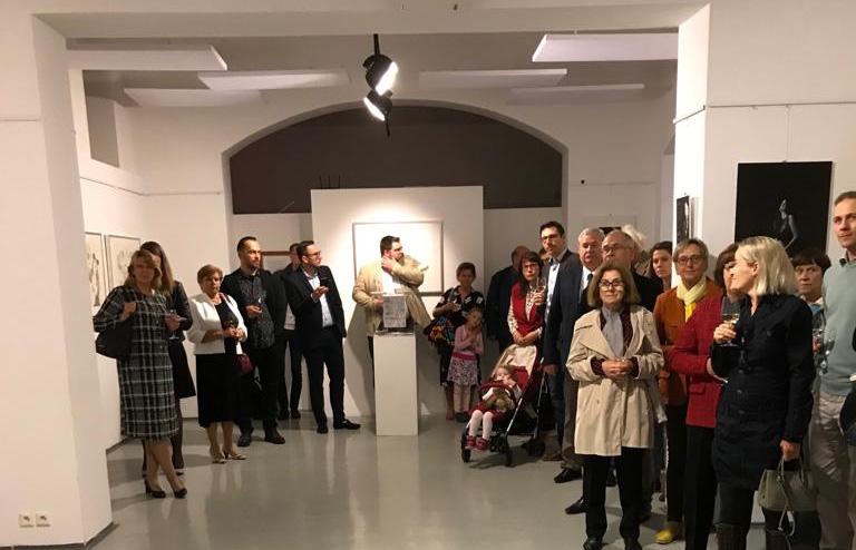 Vernissage der Wanderausstellung in Bratislava