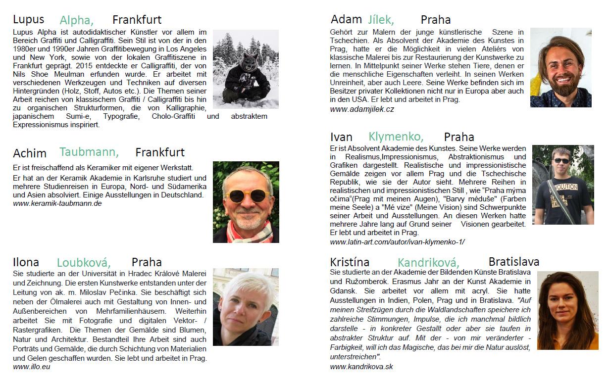 Vernissage der Wanderausstellung in Prag