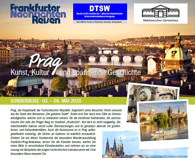 Künstler Reise nach Prag